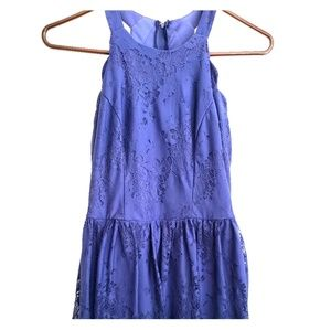 Navy blue dress from Altar'd State